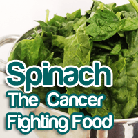 Popeye's Secret to Nutritionally Fighting Cancer
