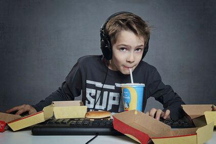 kid and soda