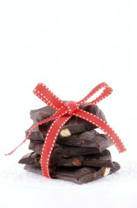 dark chocolate gift