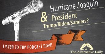podcastHurricaneJoaquinPresidentTrumpBidenSanders_640x359