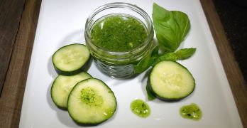 4 Reasons to Use Homemade Basil and Cucumber Body Scrub Feature Photo