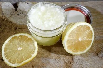 Lemon Salt Scrub Feature Photo