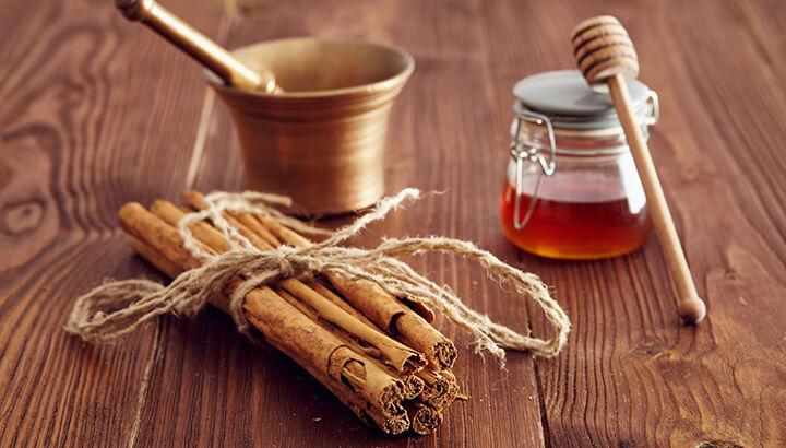cinnamon and honey