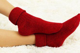 wool socks for congestion