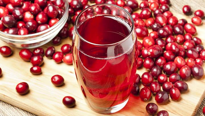 Benefits of cranberry juice 1