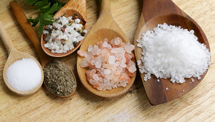 Drink Water Saly Water With Natural Salts