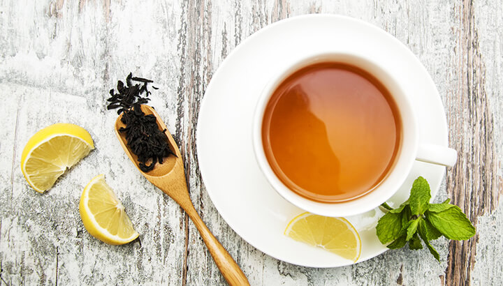 Tea and Lemon Remedy
