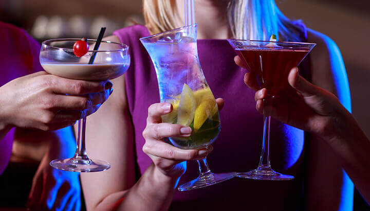 Excessive alcohol consumption may come from ads