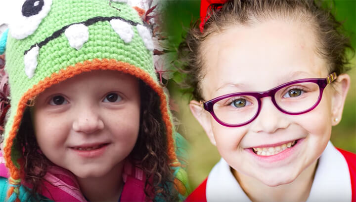 Ellie and Brynne's one true wish was to meet each other in person. (Photo Courtesy: Make-A-Wish)
