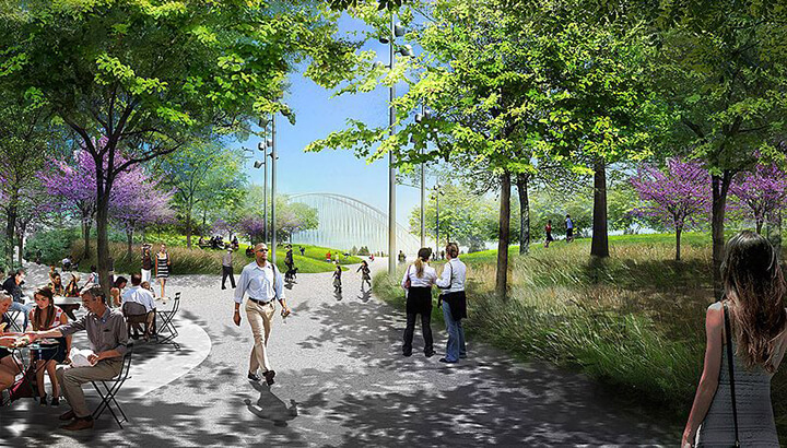 Massive urban park coming to Dallas (Courtesy of Michael Van Valkenburgh Associates) 3