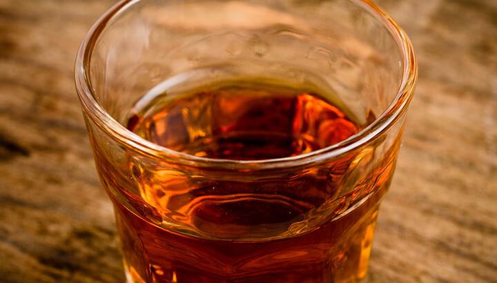 Alcohol like sherry for enemas