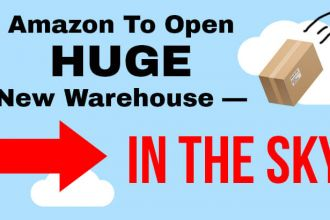 Amazon building a warehouse in the sky