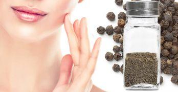 Black pepper can improve skin