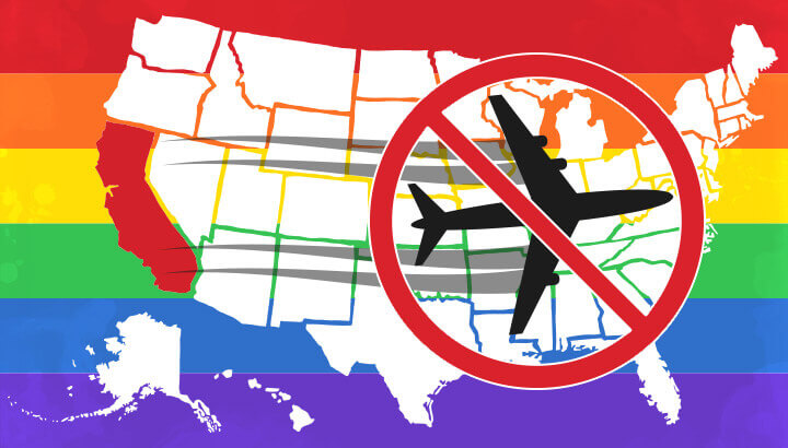 California bans travel to anti-lgbt states