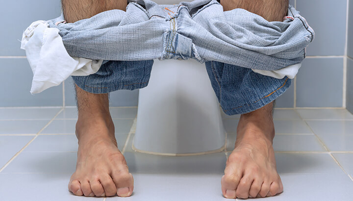 Clothing is less than relaxing that when you poop naked