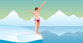 Health benefits of a cold water plunge feature photo