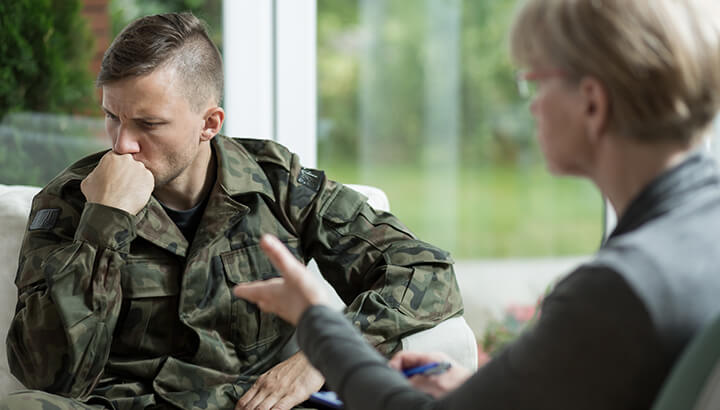 Millions of veterans struggle with mental health issues