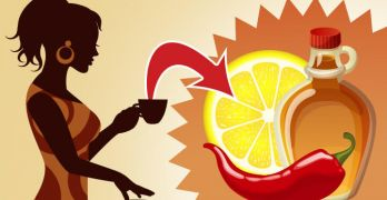 The master cleanse with lemon cayenne pepper and syrup can boost health