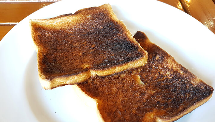 Acrylamide is brown toast may be linked to health issues