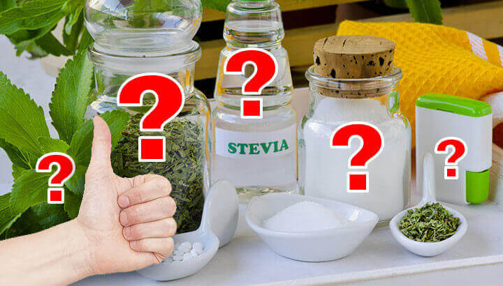 How to choose the best stevia