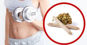 Reasons to smoke marijuana before a workout