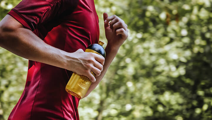 Runners often have nipple chafing