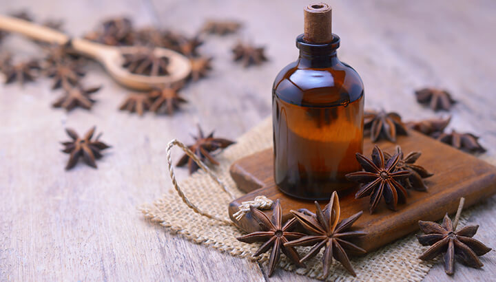 You can cook with many essential oils including anise