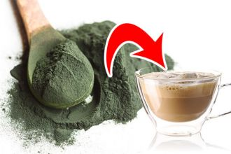 Add spirulina to your coffee