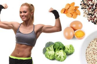 Build muscle and burn fat with these foods