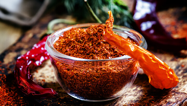 Cayenne pepper has been proven to help weight loss.