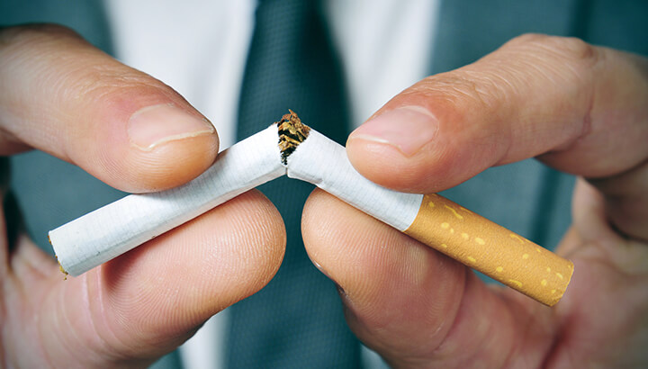 If your body is too acidic, it's best to quit smoking