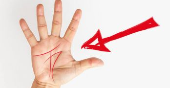 Palmistry meaning for M on hand