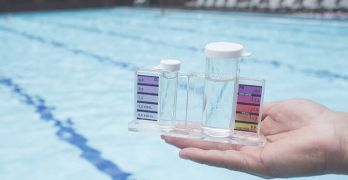 Swimming pools are filled with urine