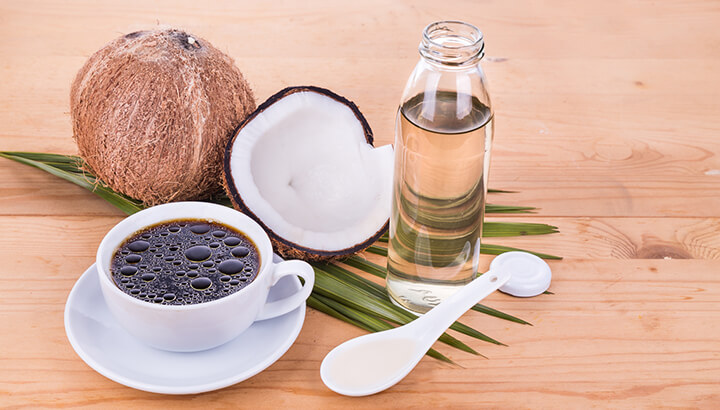 You can incorporate coconut oil into your everyday life, even in your coffee.