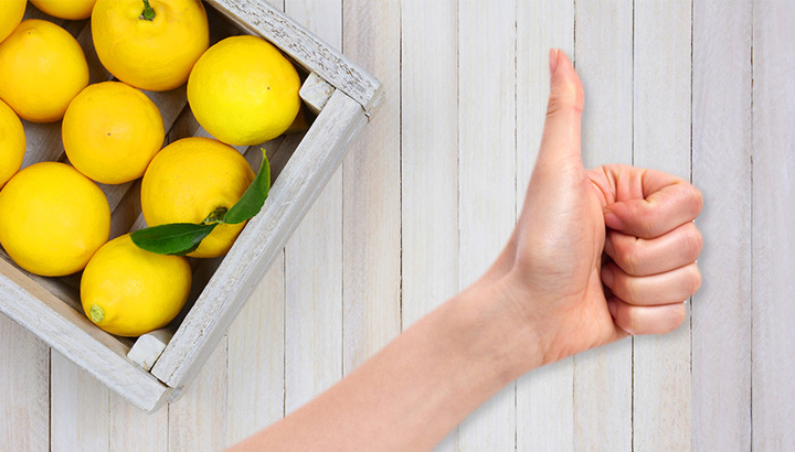 Eating lemons daily can improve your health