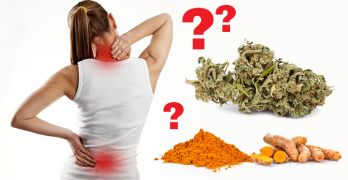 Turmeric and weed for pain