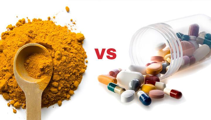 Turmeric versus modern medicine