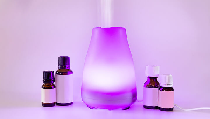 Use only trusted essential oils in a diffuser.