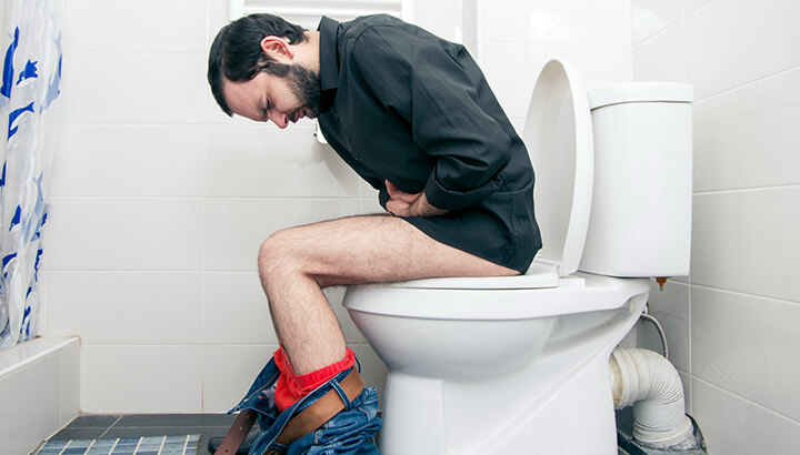 If it takes you a long time to poop, this is a sign that you need a better diet.