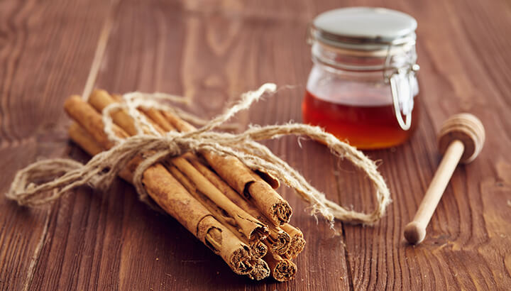 Add cinnamon and honey to your skin care routine along with ACV.